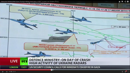 other ac near mh17