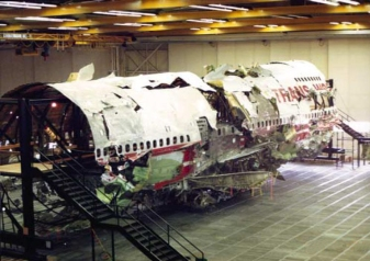 TWA 800 reconstruction