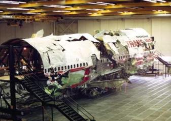 TWA 800 reconstruction