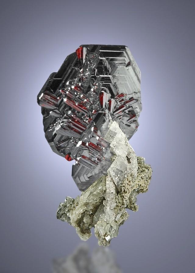 hematite rutile and feldspar