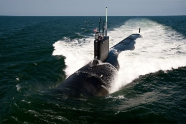Virginia-class_fast-attack_submarine_USS_California_sea_trials_Atlantic_Navy_USS_Delaware
